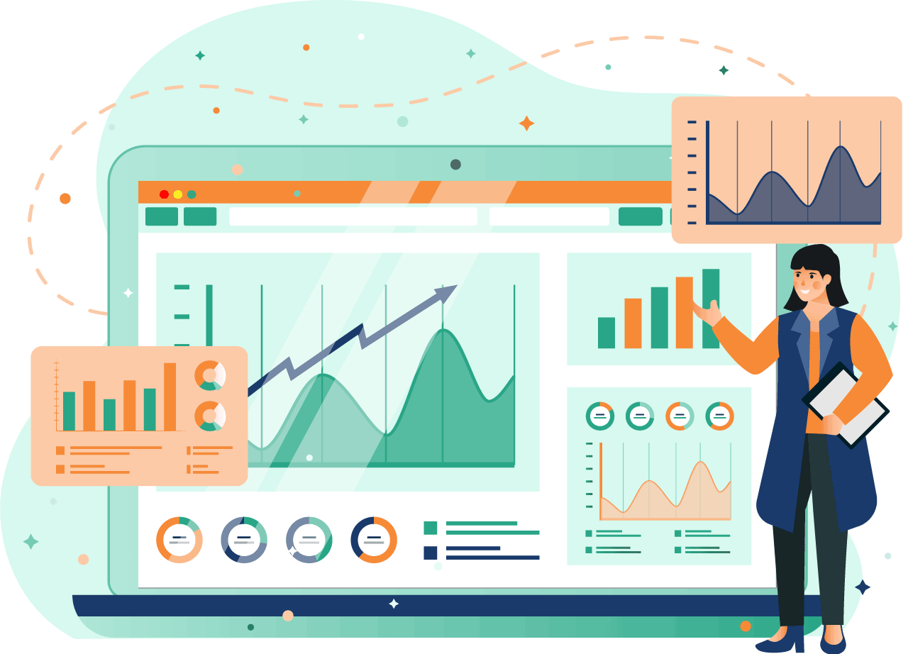 management illustration